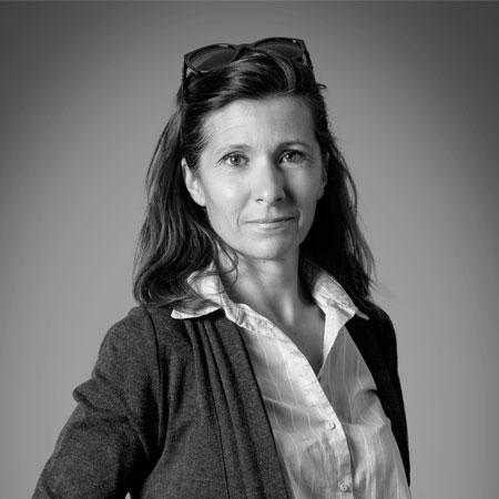 Sabine Gorrand, directrice d'agence à Méribel