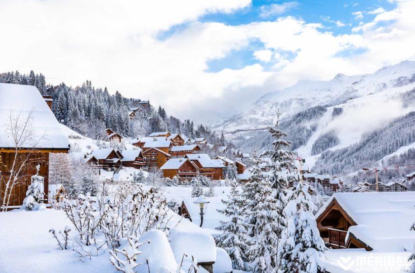 Station de ski - Meribel