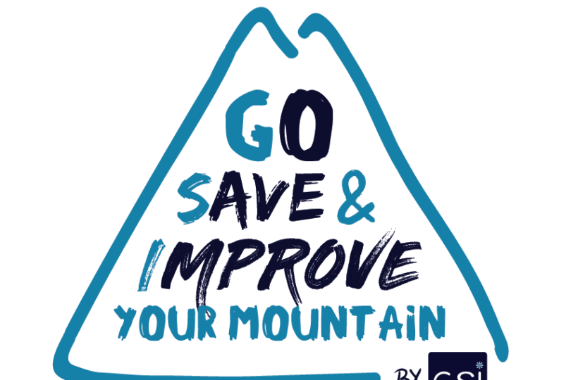 Logo Go Save and Impove your moutain