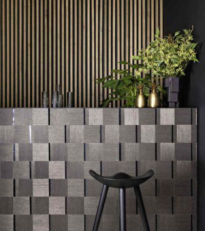 Matériaux muraux en sisal