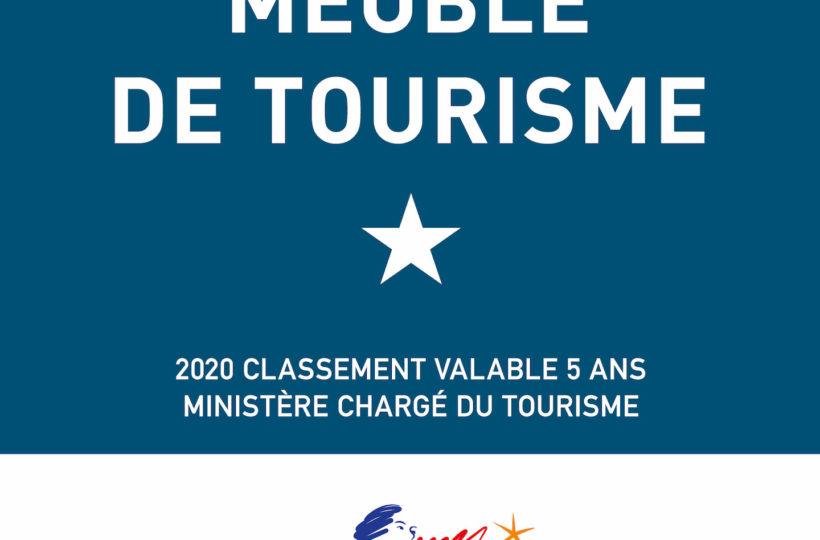 Meublé de tourisme - 1 étoile