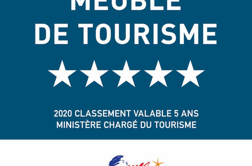 Meublés de tourisme - 5 étoiles