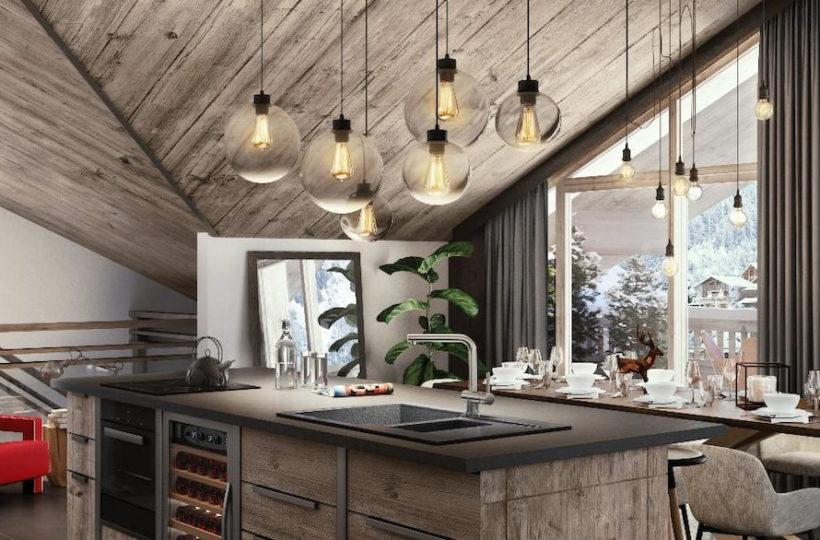 Les Terrasses de la Vanoise - Perspective intérieur
