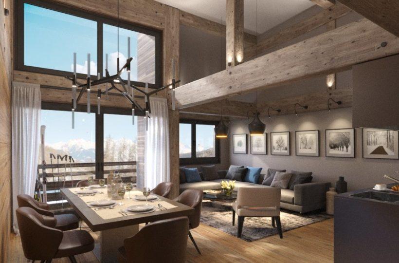 Alpine Loft - Programme immobilier - La Plagne