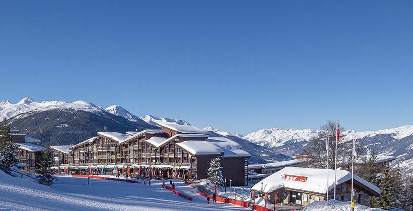 Village d'Arc 1800 en hiver