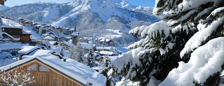 Saint Martin de Belleville en hiver