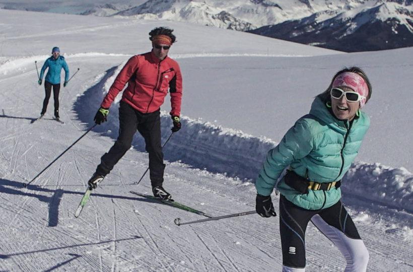 Ski de fond valmorel